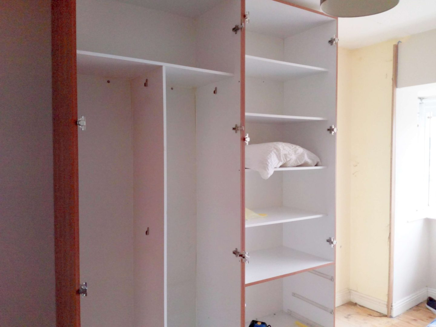 Planning and Assembling an Ikea Pax wardrobe - Our Home